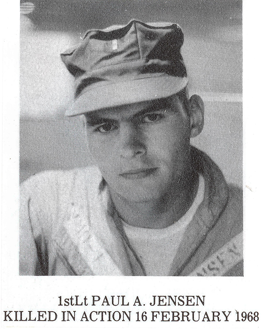 First Lt. Paul A. Jensen