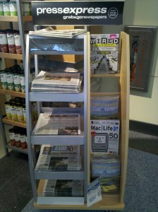 Grab and go newspapers