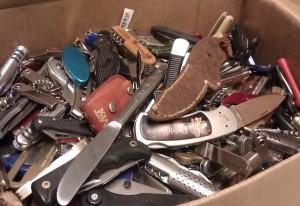 Box of knives