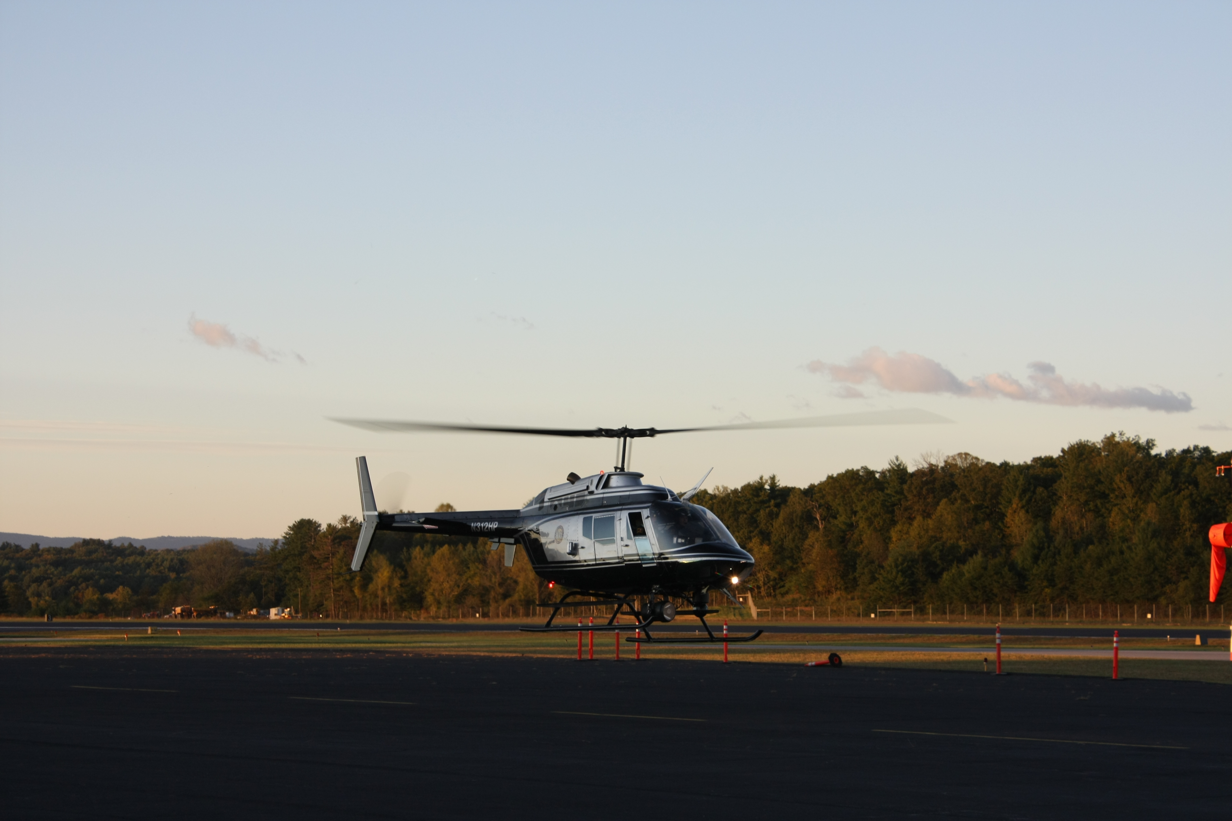 Highway Patrol Helicopter